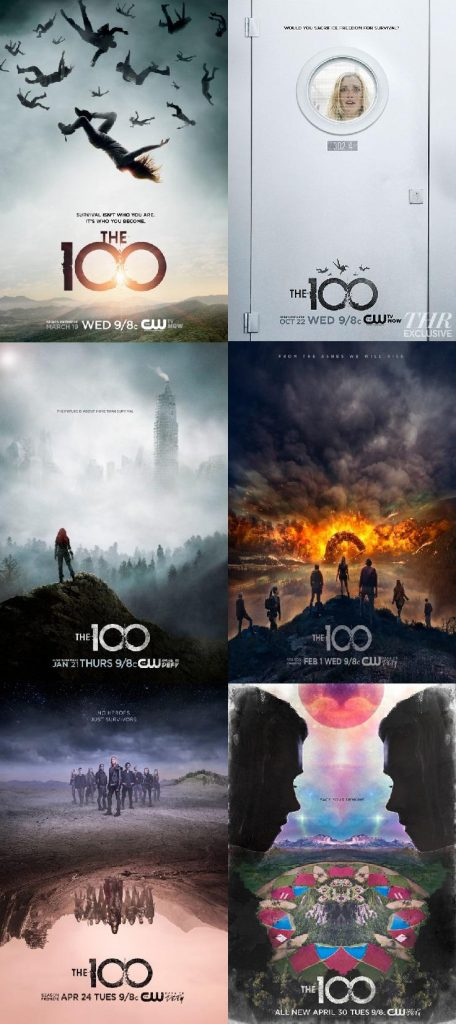 the 100 posters