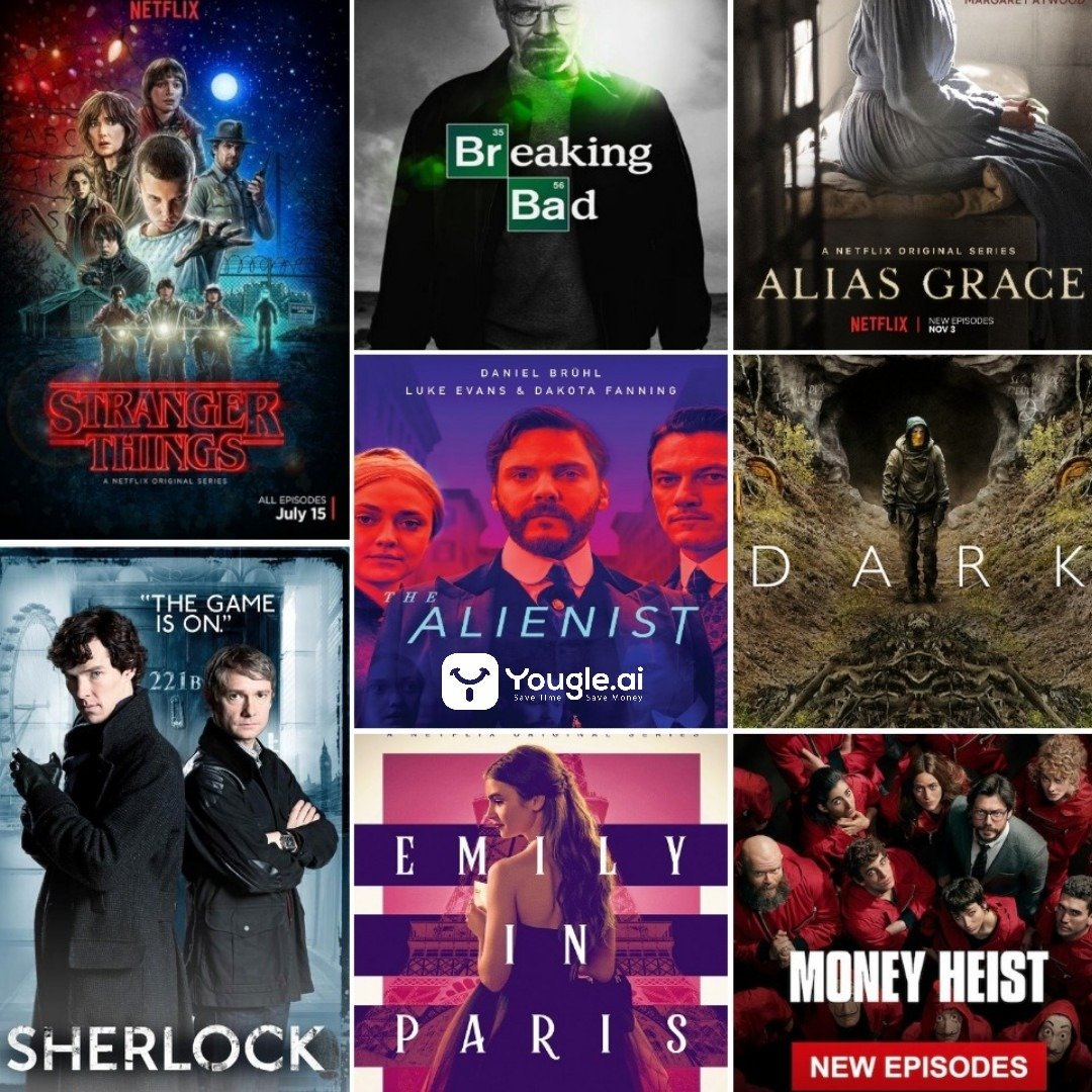 Ten shows to binge watch on Netflix Collage Awesome
