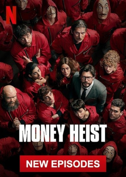 Ten shows to binge watch on Netflix Money Heist