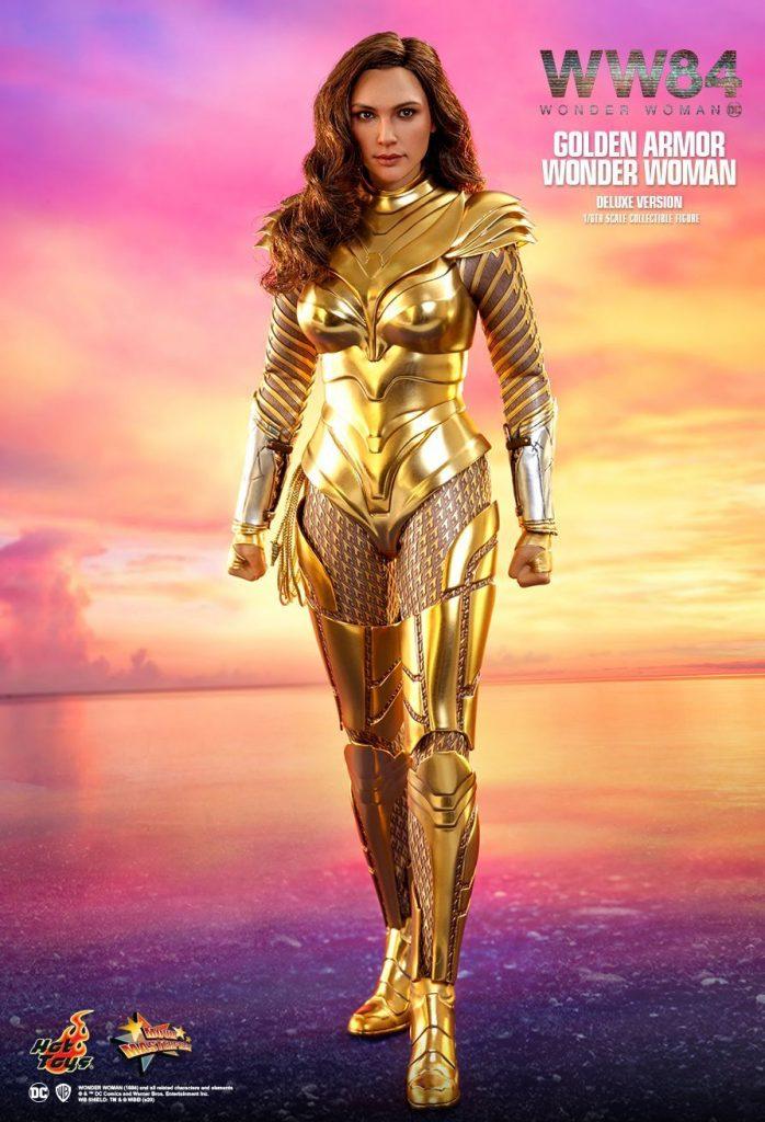 Wonder Woman 84 Golden Armor Poster