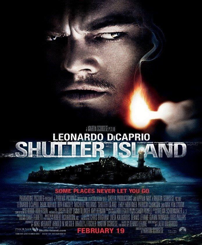 list of ten best thriller movies of all time shutter island