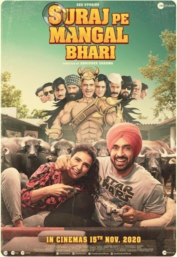 Suraj Pe Mangal Bhari Movie Review
